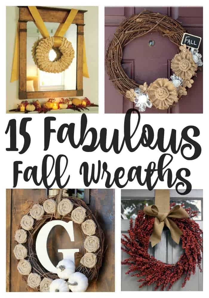 15 Fabulous DIY Fall Wreaths