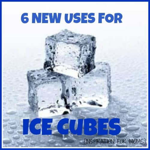New Uses for Ice Cubes