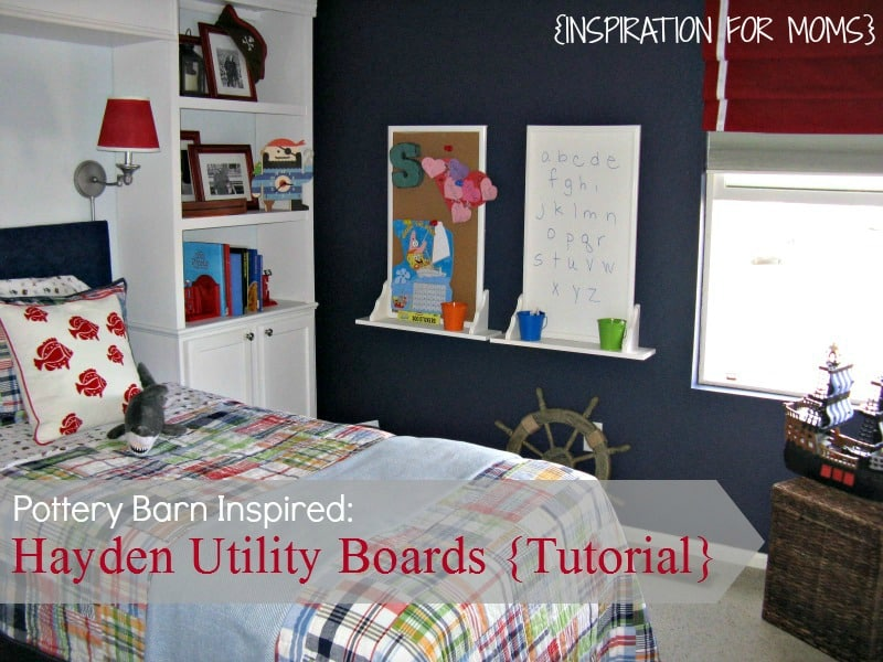Pottery Barn Kids Hayden Utility Boards Tutorial