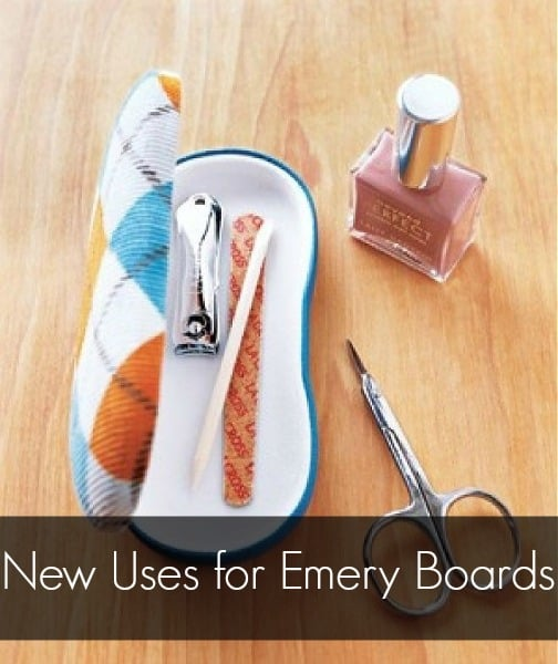 New Uses for Emery Boards