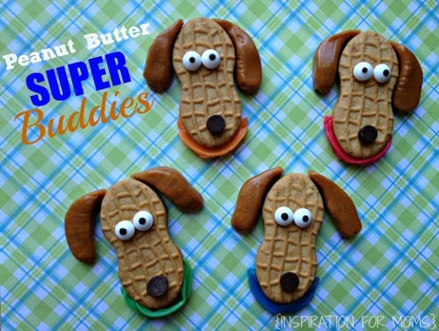 Peanut Butter Super Buddies Cookies