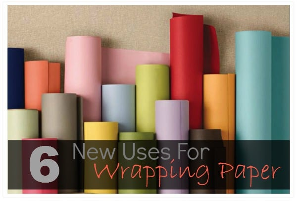 New Uses for Wrapping Paper