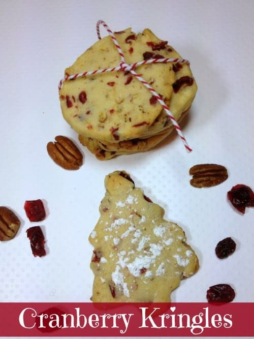 Cranberry Kringles Sweet Cookie
