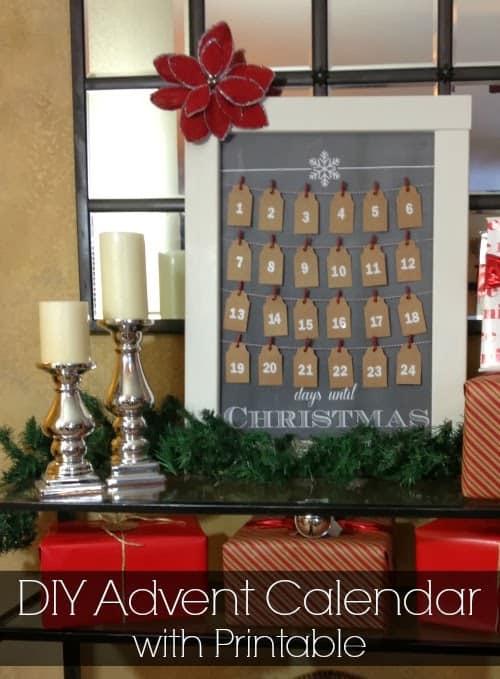 DIY: Christmas Advent Calendar
