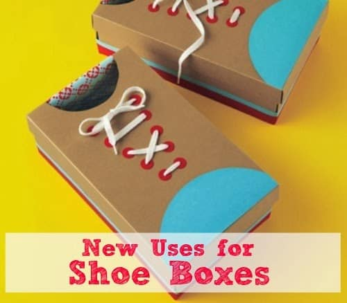 Decorating A Shoe Box: Six On Saturday: New Uses For Shoe Boxes