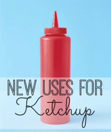 six new uses for ketchup from Inspiration for Moms