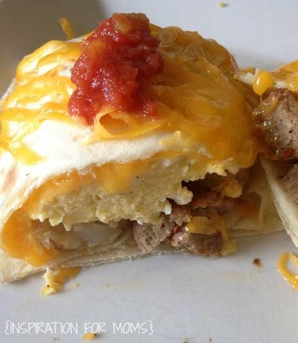 breakfast burritos-close up