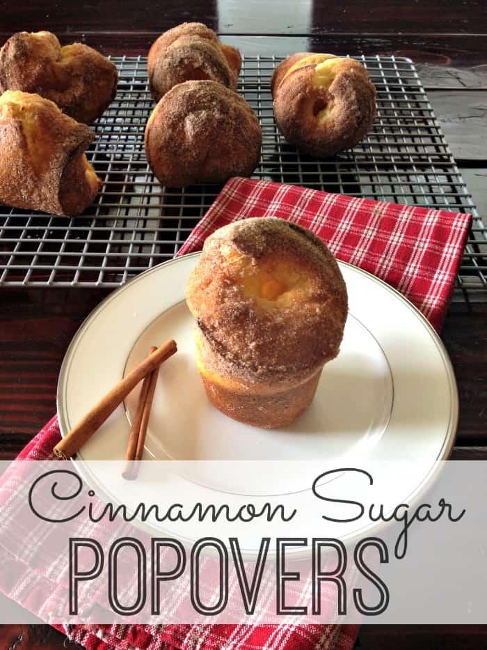 Cinnamon Sugar Popovers #Popover #dessert #dessertrecipe #cinnamon | www.inspirationformoms.com