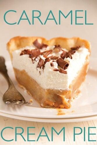 carmel cream pie