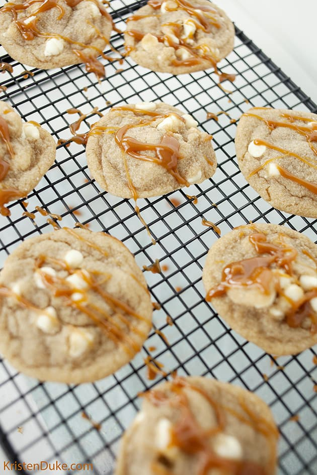 Brown Butter Caramel Cookies