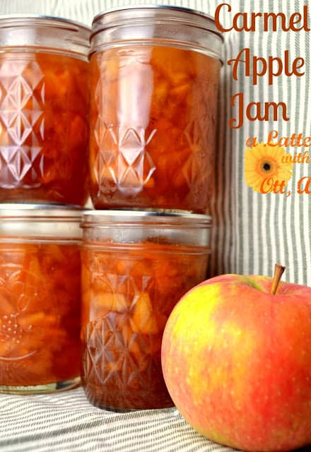 carmel apple jam