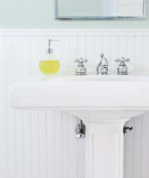 clean faucets with onions