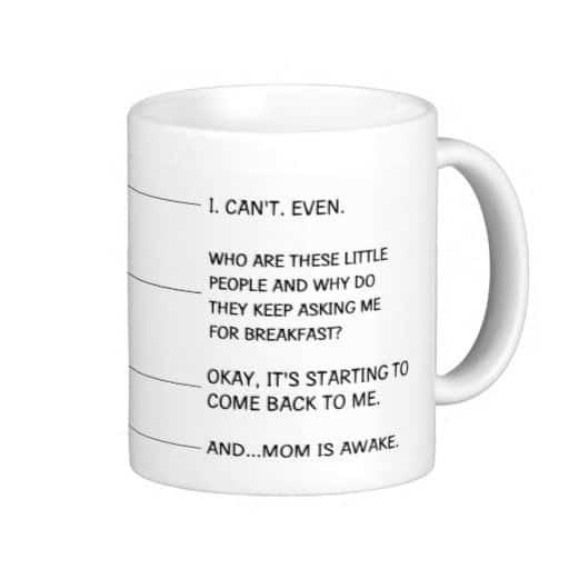 mom coffee cup