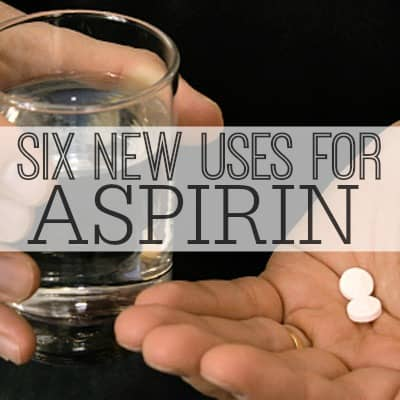Discover six new ways to use aspirin in your home! #sixonsaturday #newusesforthings #aspirin | www.inspirationformoms.com
