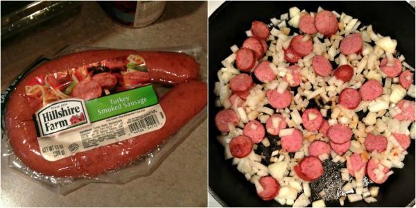Hillshire Farm Turkey Sausage collage2