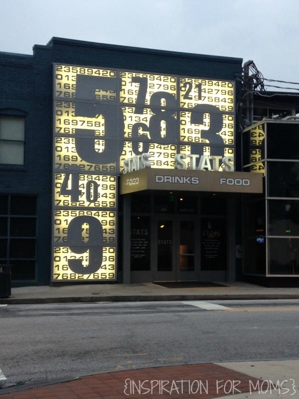 Stats Restaurant in Atlanta