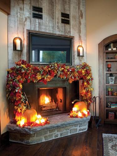 halloween-fall-mantels