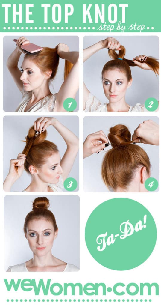 top-knot-step-by-step