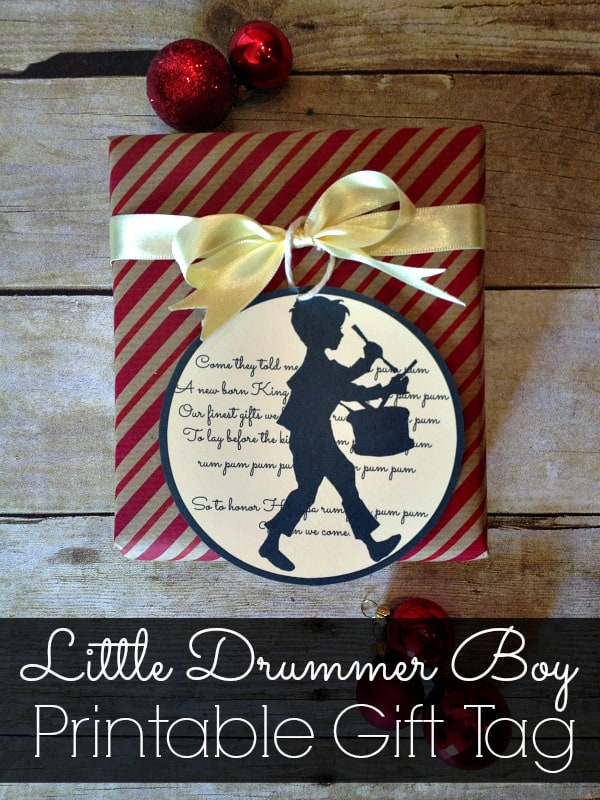 Little Drummer Boy Gift Tags