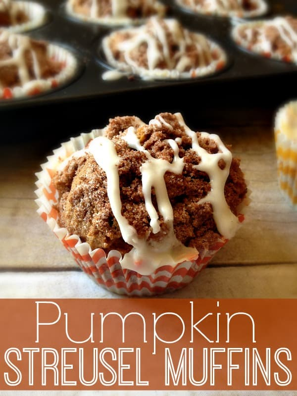 Pumpkin Streusel Muffins #pumpkin #muffins #streusel #BRMHolidays #CleverGirls | www.inspirationformoms.com