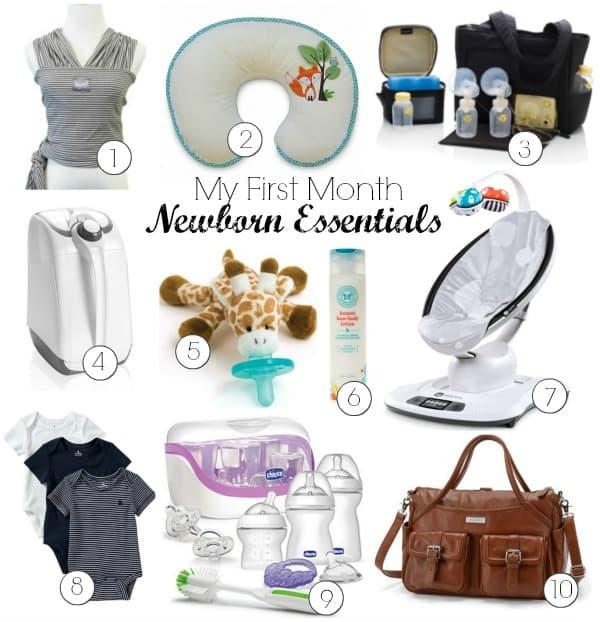 10 First Month Newborn Essentials