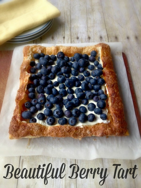 Beautiful Berry Tart by Inspiration for Moms