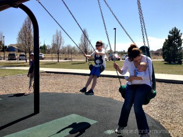 picnic in the park-swings