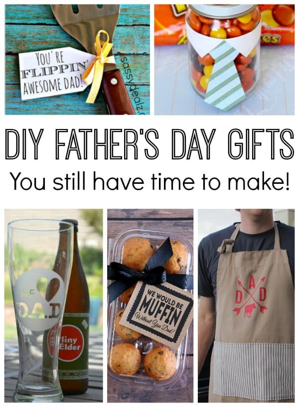 10 DIY Father's Day Gifts You Still Have Time to Make