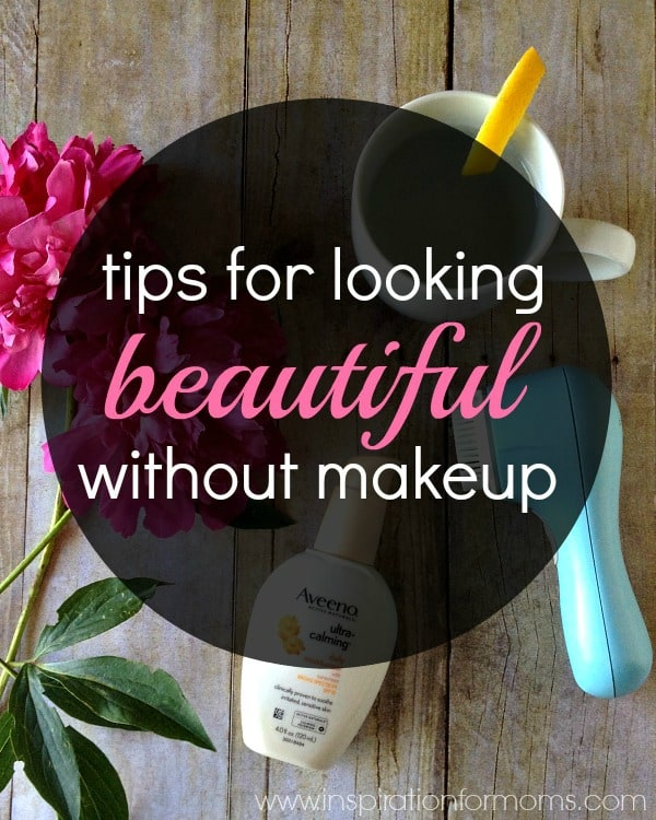 Great tips for looking beautiful without makeup!