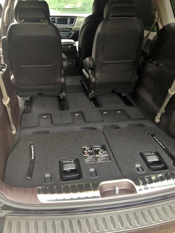 Kia Sedona (back seats down)
