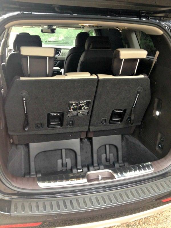 Kia Sedona (back seats up)