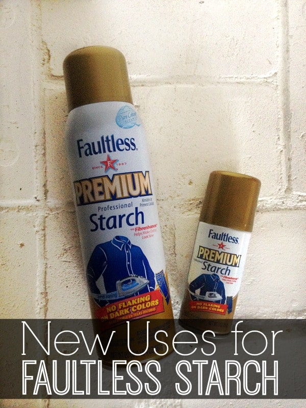 New Uses for Faultless Starch