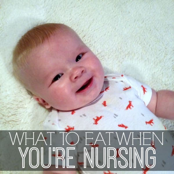 Tips On What To Eat When Nursing