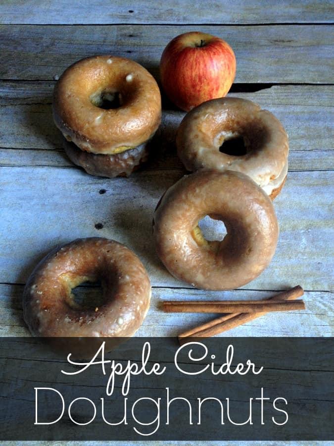 Baked Apple Cider Doughnuts {Gluten-Free}