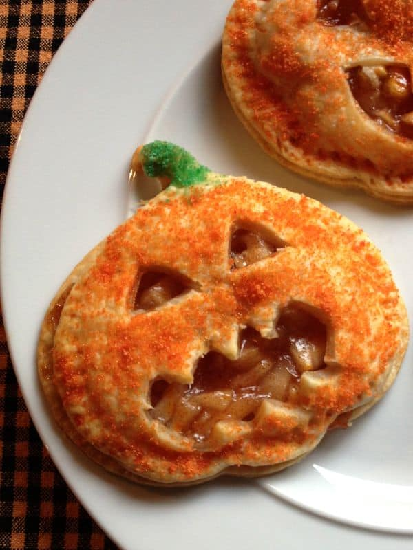 Halloween Pumpkin Pies Jagged Mouth