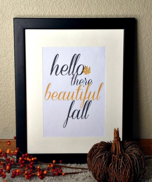hello there beautiful fall cover
