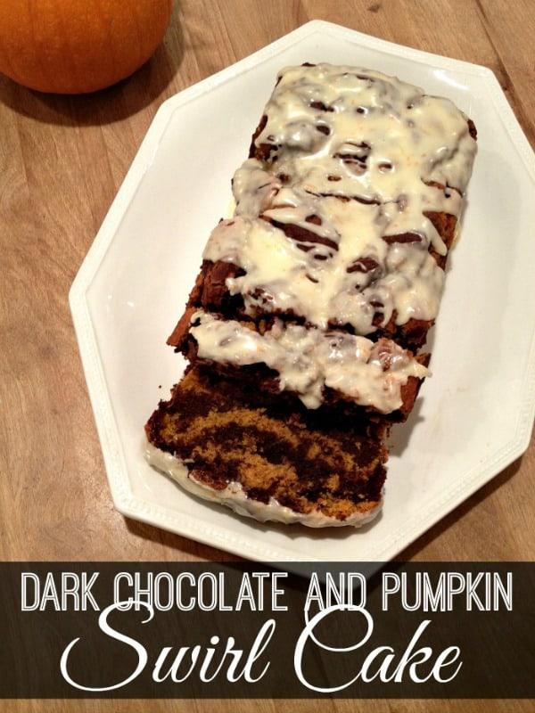 Dark-Chocolate-and-Pumpkin-Swirl-Cake from inspirationformoms.com