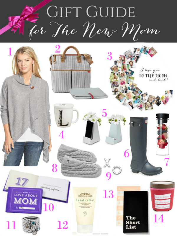 Gift Guide for The New Mom from Inspiration for Moms