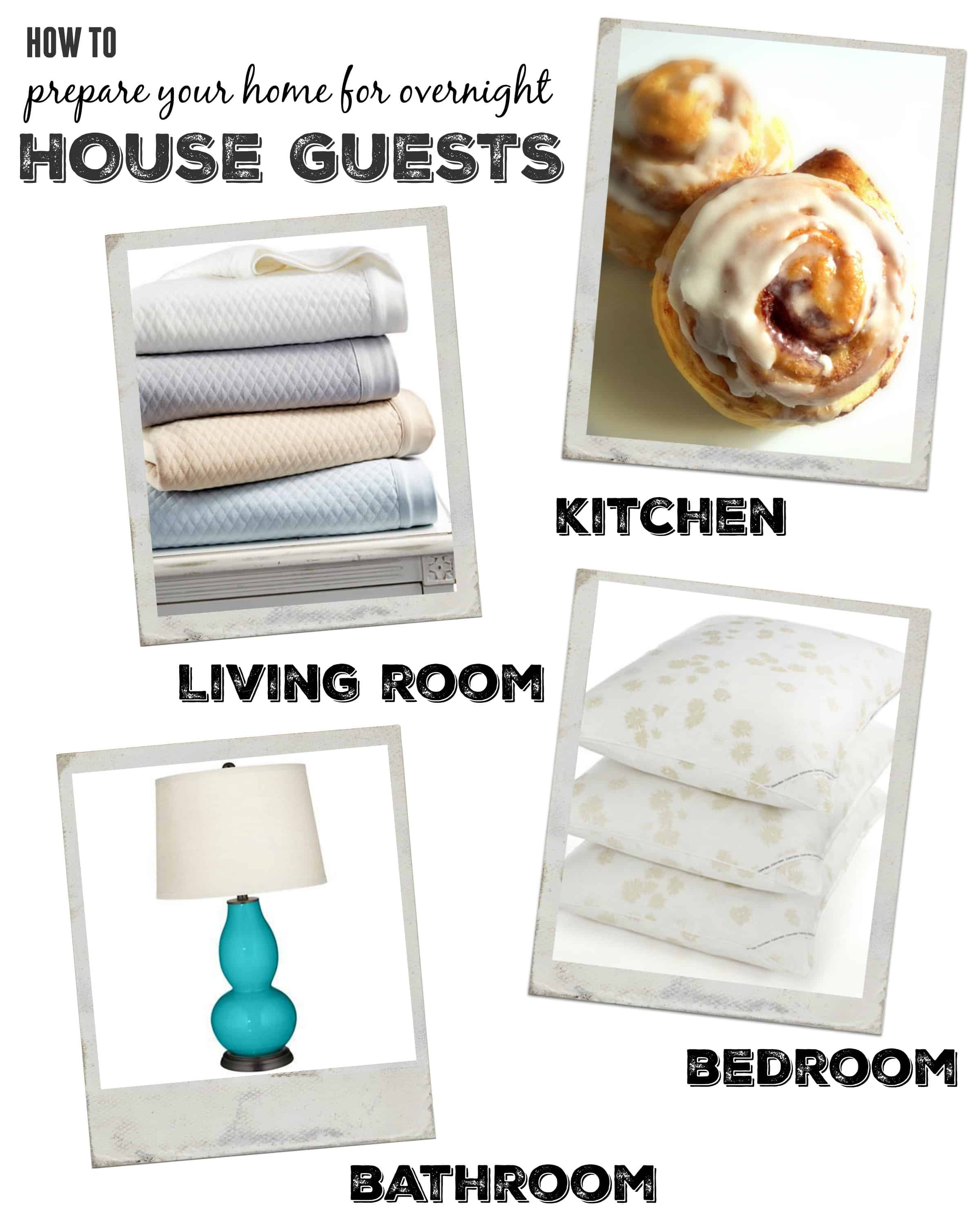 How to prepare your home for overnight house guests
