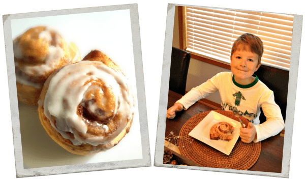 Pillsbury Cinnamon Rolls Collage