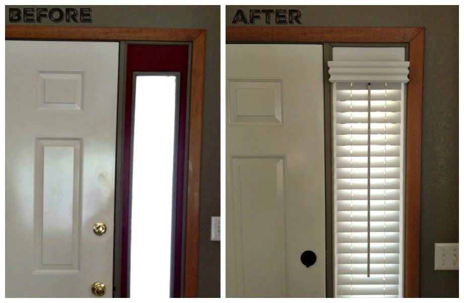 before and after side light window