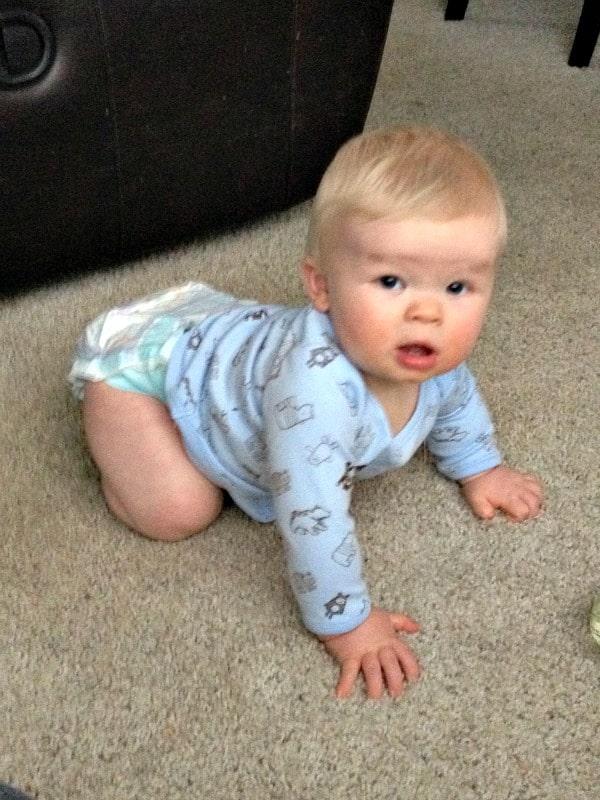 crawling b