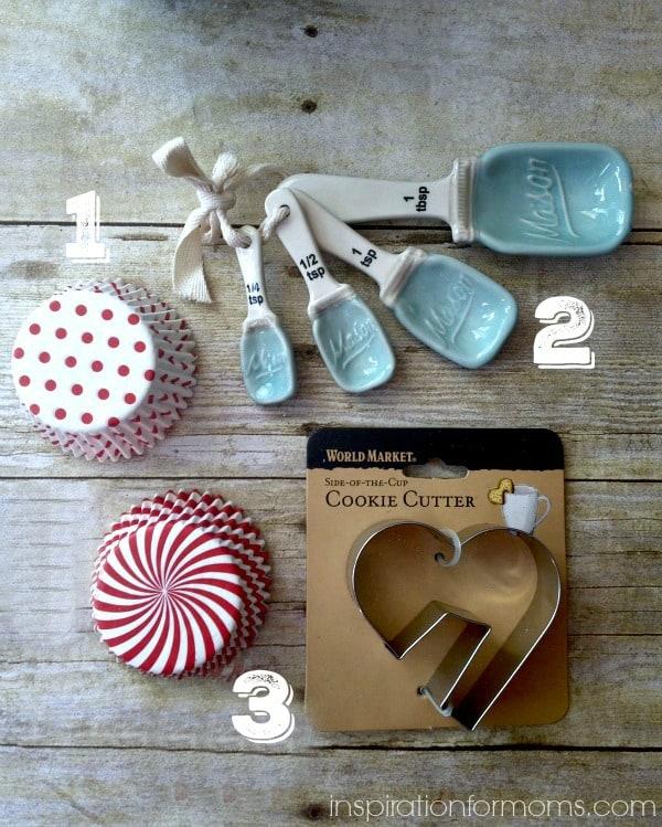 mason jar themed baker gift jar items 1-3