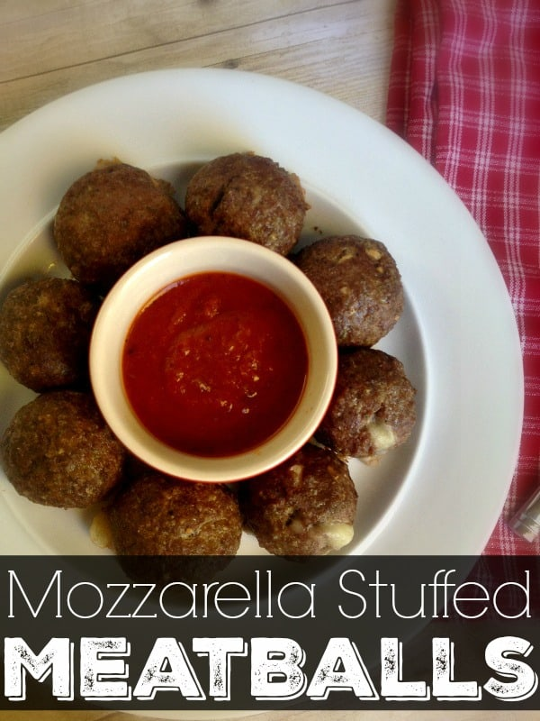 Give your traditional meatballs a new twist with my Mozzarella Stuffed Meatball recipe. I promise you, it's going to be a new family favorite!