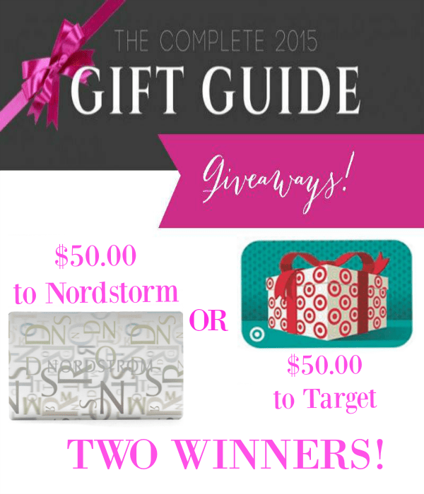 the gift guide giveaway gift cards