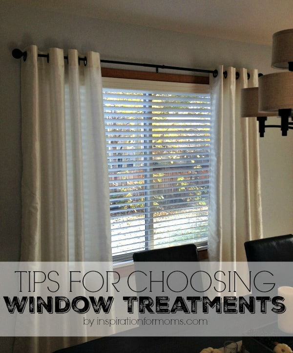 tips for choosing window treatments