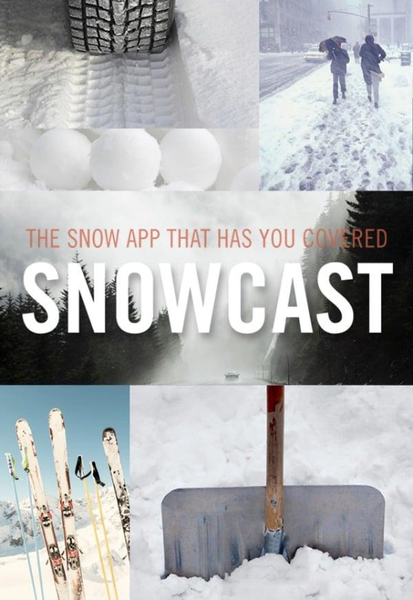 snowcast app cover