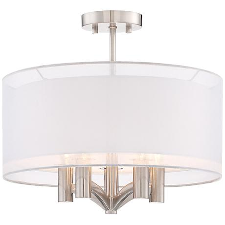 Caliari Brushed Nickel Ceiling light