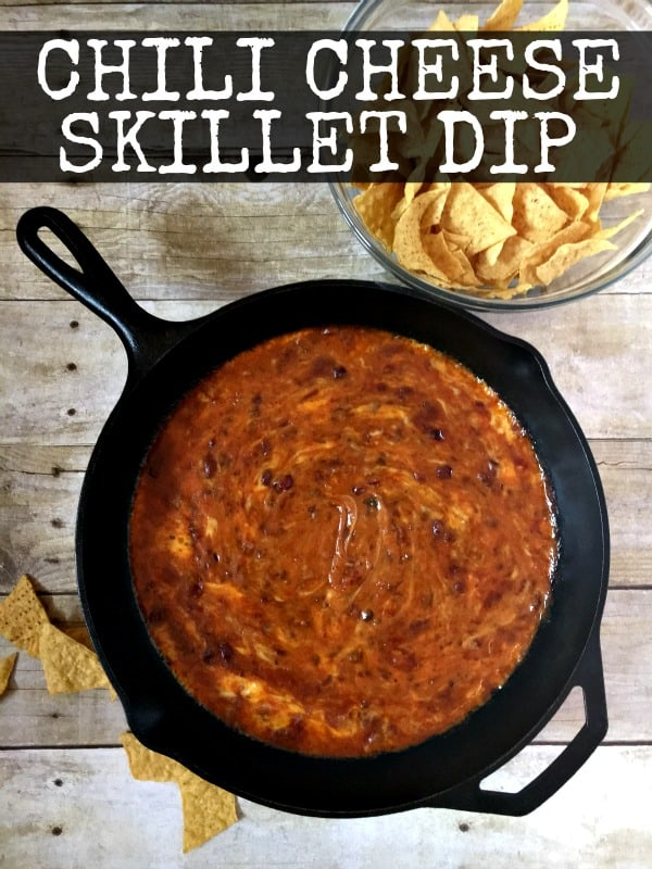 Chili Cheese Skillet Dip
