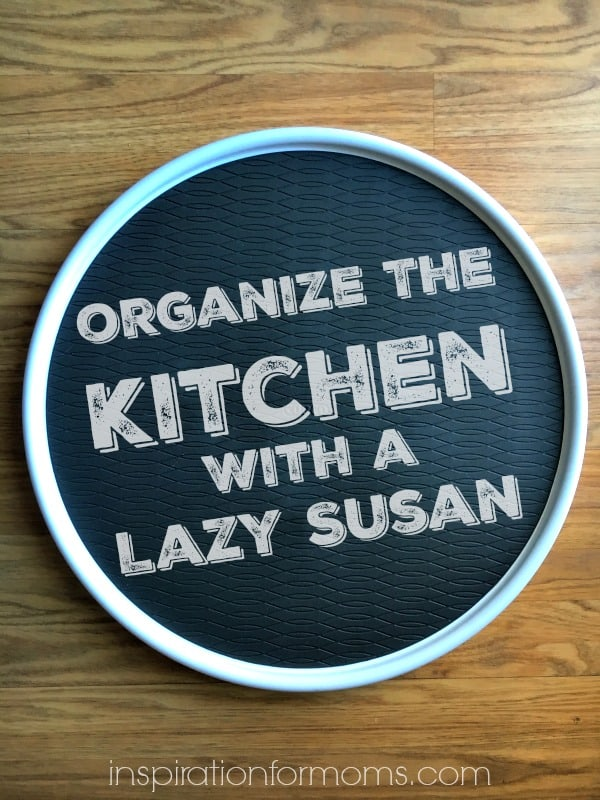 Organize The Kitchen Three Different Ways With A Lazy Susan